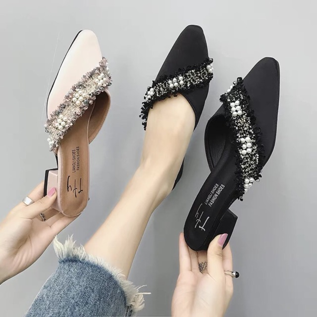 Giày sục nữ cao cấp