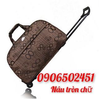 Vali kéo, túi du lịch chống thấm nước dành cho cả nam và nữ nhiều mẫu chọn lựa size lớn thumbnail