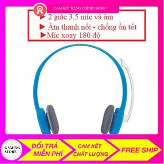 Tai nghe chụp tai LOGITECH H150 (2 Giắc)-Âm thanh nổi , tai nghe chống ồn logitech H150