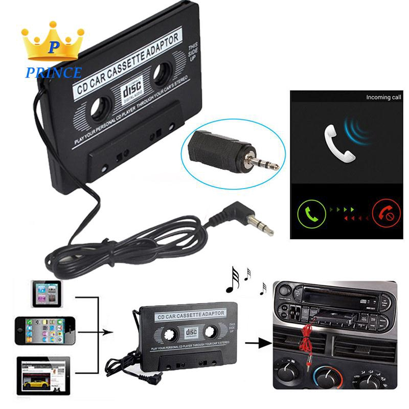 Ready Stock Converter Audio Adapter Black 3.5MM Jack Car Stereo Classic