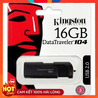 USB king ston DT104 16GB DataTraveler 2.0 tem FPT Vĩnh xuân I