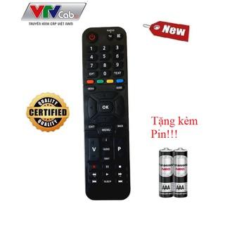 [Mã ELFLASH5 giảm 20K đơn 50K] Remote điều khiển cho đầu VTVcab HD Kaon- Hàng chính hãng tặng kèm Pin!!!