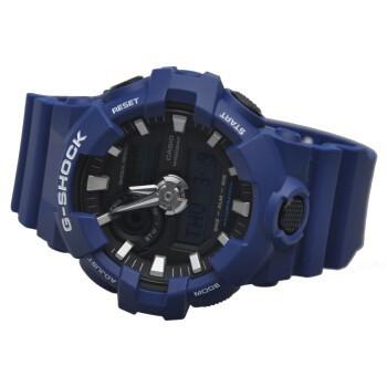 แท้ Casio G-Shock Men's Blue Watch GA-700-2A นาฬิกาสำหรับกีฬาแฟชั่น