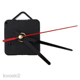 1x Movement with Pointer for Quartz Wall Clock Repair Replacement Black Red