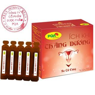 [100% thảo dược]PQA Ích khí thăng dương dùng cho phụ nữ sa tử cung, hộp 10 ống 10ml thumbnail