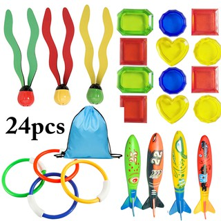 Diving Toy Set Creative Funny Pool Toy Water Toy Swimming Toy for Underwater