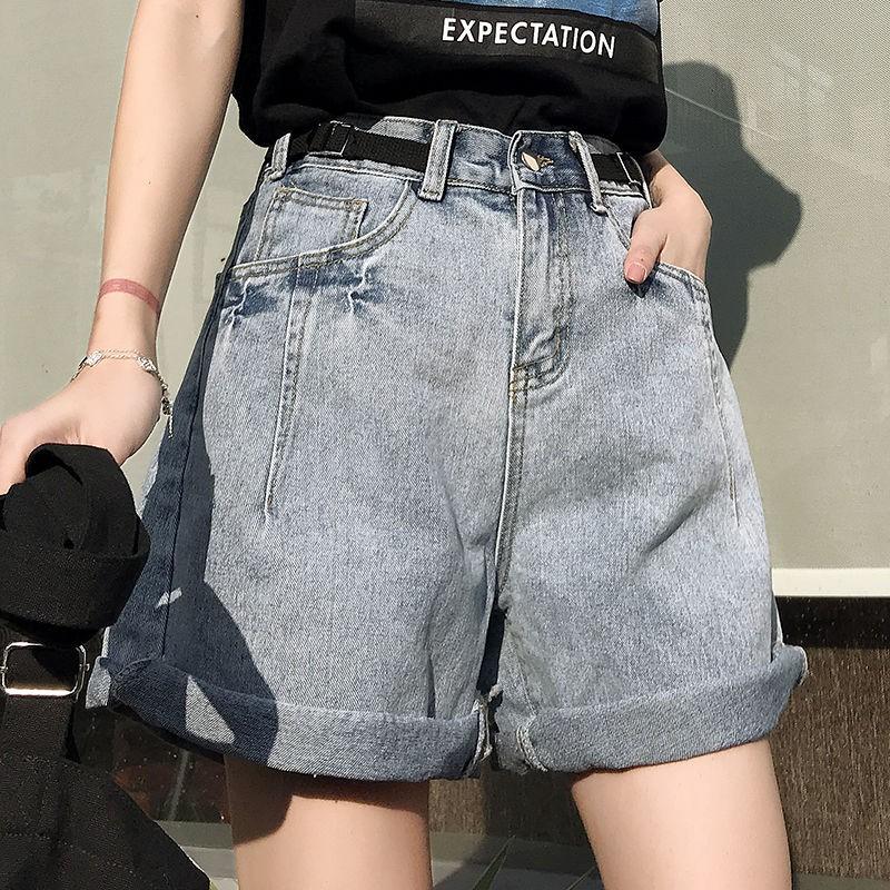 quần short denim ống rộng lưng cao phong cách hàn quốc dành cho nữ - 14716548 , 2610064922 , 322_2610064922 , 375200 , quan-short-denim-ong-rong-lung-cao-phong-cach-han-quoc-danh-cho-nu-322_2610064922 , shopee.vn , quần short denim ống rộng lưng cao phong cách hàn quốc dành cho nữ