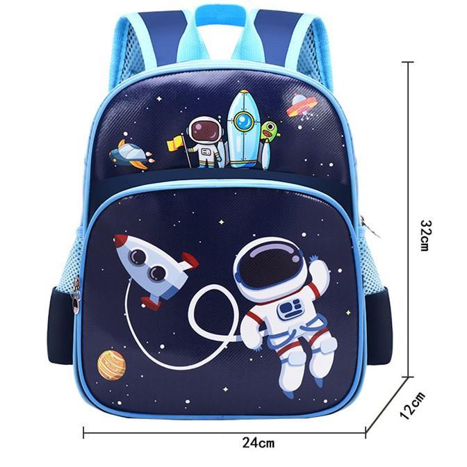 Ba lô cho bé trai in hình vũ trụ mẫu giáo 1-5 tuổi