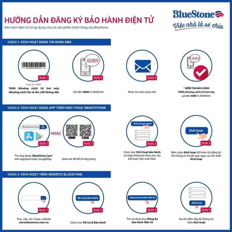 Máy Hút Bụi BlueStone VCB-8037 - Hàng chính hãng - Bảo hành 24 tháng