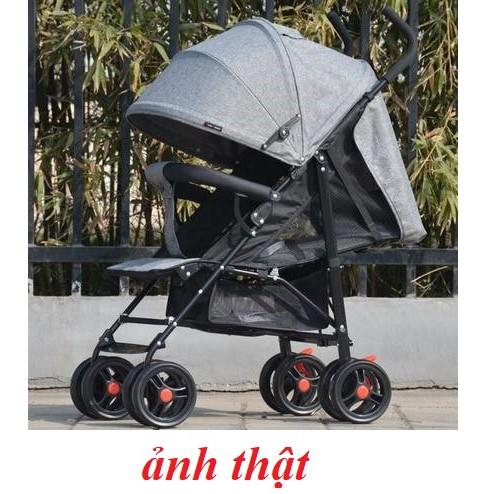 🌟xe đẩy cho bé gấp gọn siêu nhẹ - xeđẩy em bé