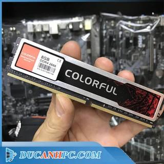 RAM DDR4 8GB COLORFUL BUS 2666 - Bảo Hành Hãng 10 2023 thumbnail