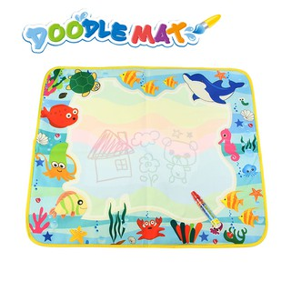 60X49cm Water Drawing Mat with Magic Pen Non-toxic Doodle Kids Painting Toys