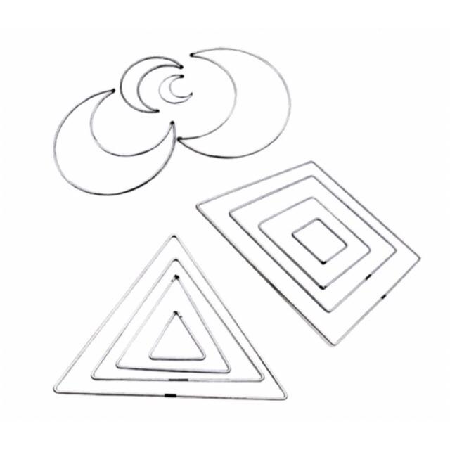 Vòng sắt mặt trăng, hình vuông, tam giác...