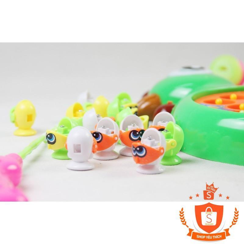 [SHIP THẦN TỐC] -  Bộ đồ chơi Long Thủy 2 in 1 câu cá và đập chuột