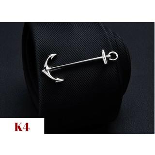 Kẹp Cà Vạt Nam thời trang độc đáo – kim loại không rỉ – AdamZone