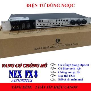Vang Cơ NEX ACOUSTICS -FX8 Chống Hú, tặng kèm dây tín hiệu thumbnail