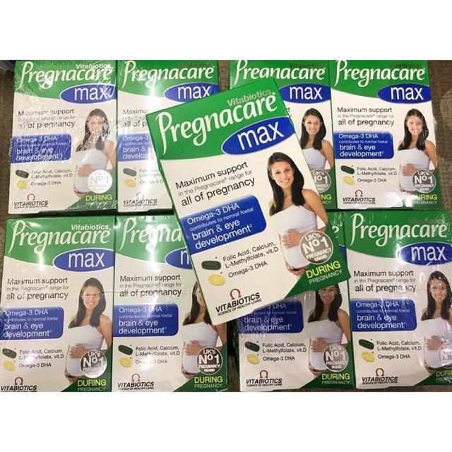 Vitamin tổng hợp cho bà bầu Pregnacare Max