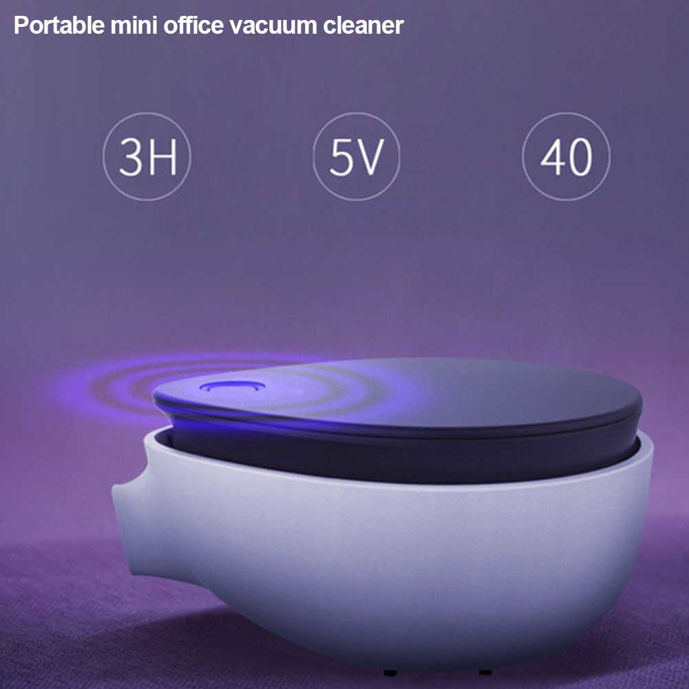 Rechargeable Dusting Vacuum Cleaner Mini Car Office Portable Home Wireless Handheld