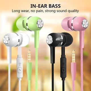Earphone Stereo 3.5mm Universal Headset Noise Isolation 3.5mm Universal Headphone Sports 3.5mm Universal