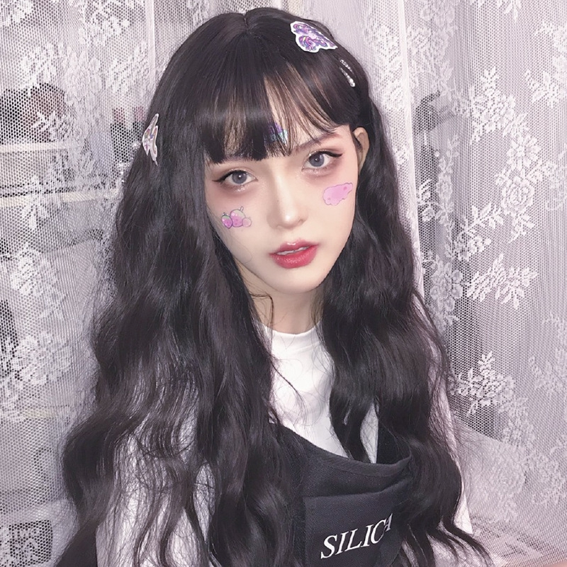 bộ tóc giả dài uốn xoăn phong cách lolita - 22153569 , 3203831476 , 322_3203831476 , 180400 , bo-toc-gia-dai-uon-xoan-phong-cach-lolita-322_3203831476 , shopee.vn , bộ tóc giả dài uốn xoăn phong cách lolita