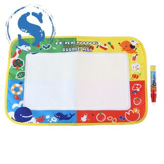 As Shown Water Drawing Mat Board Magic Pen Doodle Kids Toy Gift 46X30cm