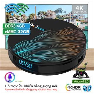 Android tivi box ram 4gb bộ nhớ trong 32 gb phục vụ nghe nhạc xem phim lướt web chất lượng cao HK1 MAX32G
