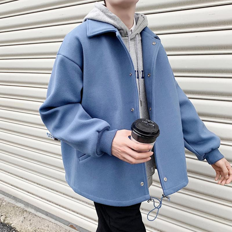 Autumn and winter shorts, woolen coat, woolen coat, windbreaker