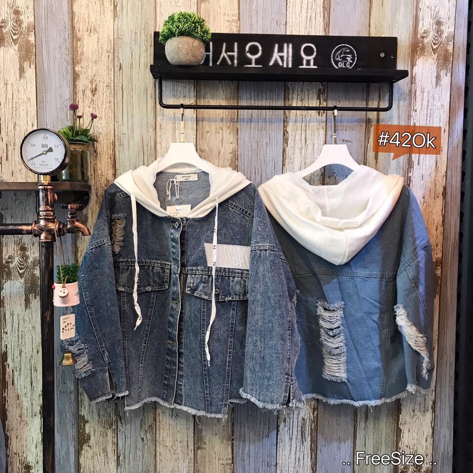 Áo khoác Jeans 21