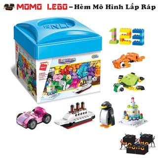Đồ chơi mô hình lắp ráp lego – Hộp Gạch Tự Ráp Theo Ý Thích
