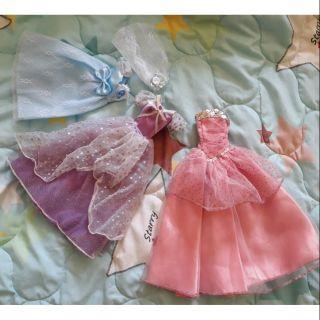 Set đầm công chúa barbie