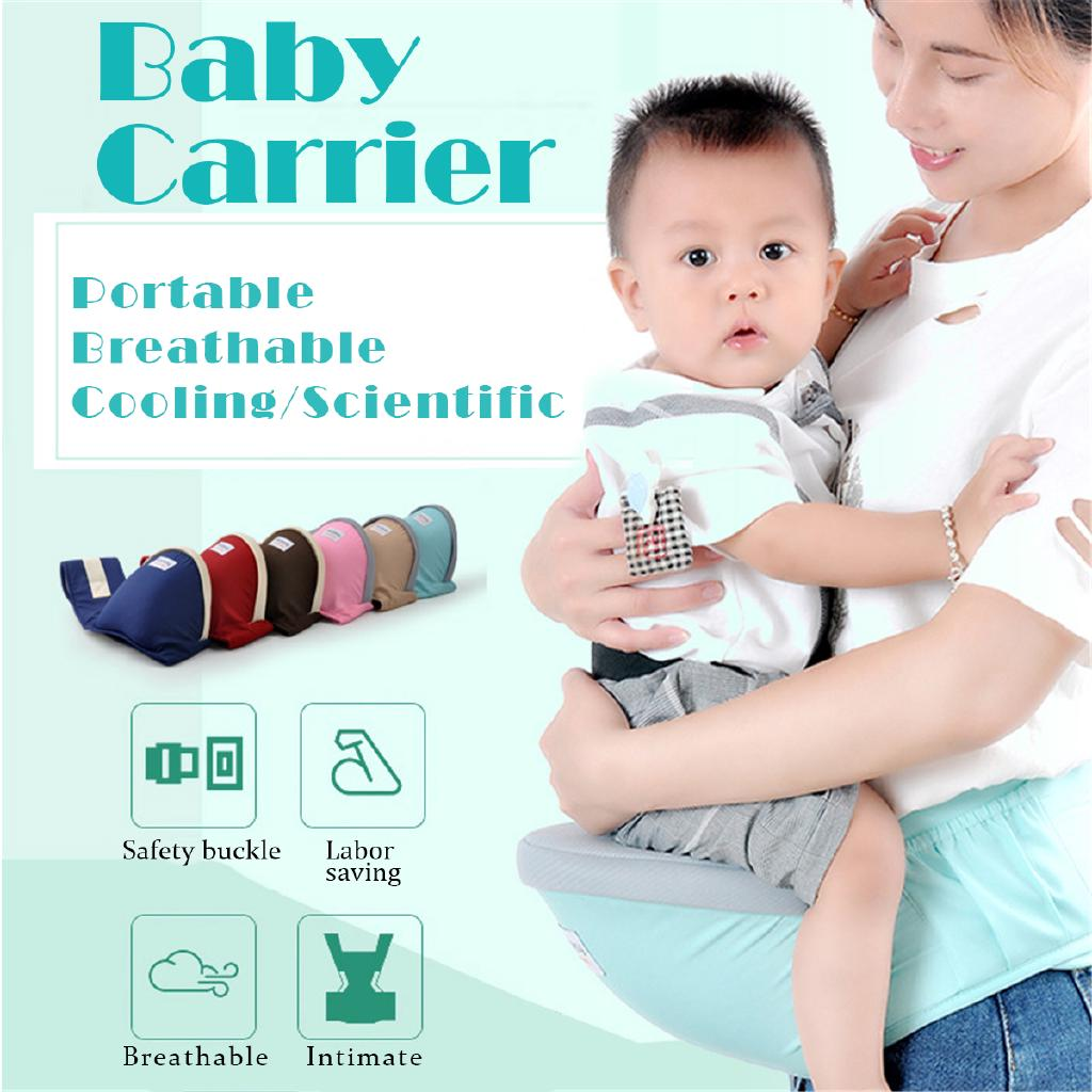 Baby Carrier Waist Stool Walker Belt Backpack Hipseat Sling Front Holder Toddler