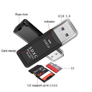 """[Mã ELCB10 hoàn xu 10K đơn 0đ] Đầu đọc thẻ nhớ TF SD có đầu cắm USB 3.0 chuyển đổi dữ liệu tốc độ cao 2 trong 1 cho PC Laptop giá chỉ còn <strong class=""""price"""">3.100.000.000đ</strong>"""