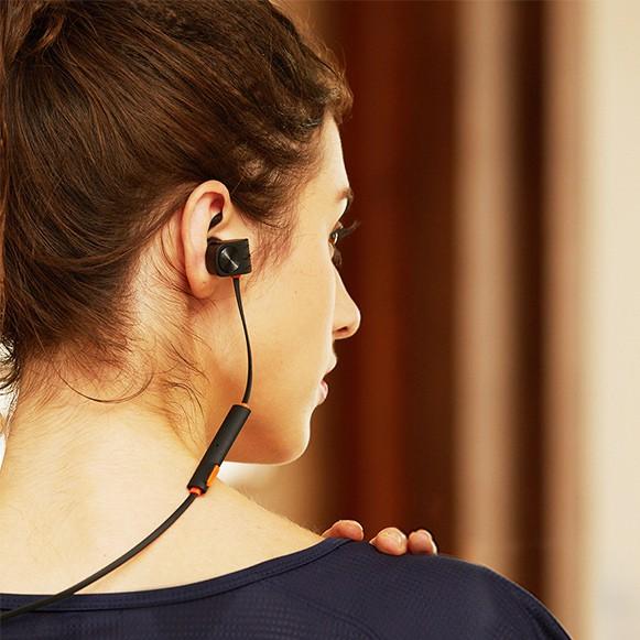 Tai nghe bluetooth plextone BX338 tiêu chuẩn chống nước ipx5, 2 pin cực trâu