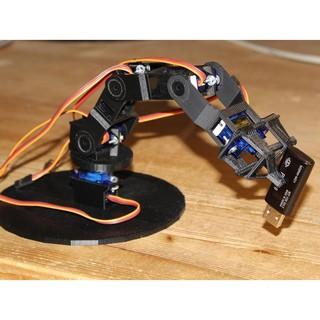 Cánh tay Robot 4 bậc