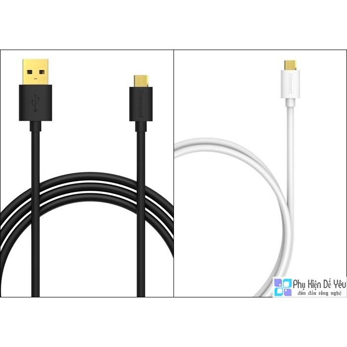 Cáp Micro USB Tronsmart 1,8m mạ vàng