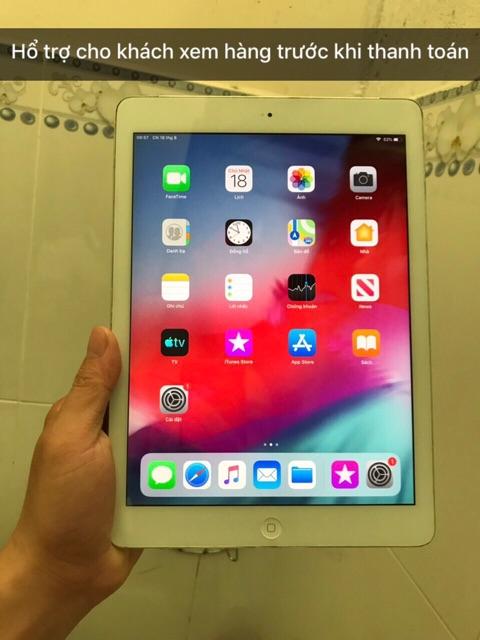 Máy tính bảng Ipad Air / 2/3/4 / Ipad mini 1/2/3/4 Đủ loại wifi 4G 128GB Giá tốt , giao máy tận nhà   SaleOff247