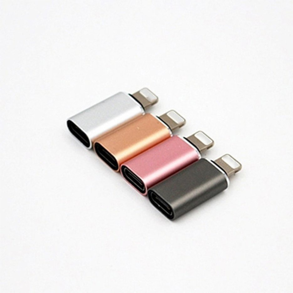 Bộ chuyển đổi Type-C sang Micro USB bằng hợp kim nhôm(màu ngẫu nhiên)