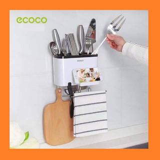 Kệ bếp Ecoco treo dao muỗng đũa - giá treo đồ dùng phòng bếp cao cấp