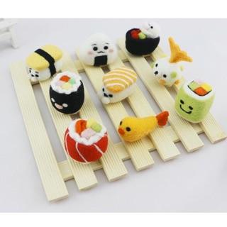 Combo nguyên liệu Len Chọc DIY – Sushi 9 set