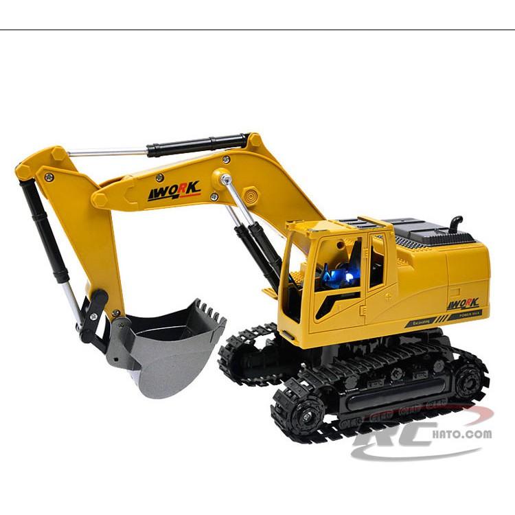 Máy xúc đất điều khiển từ xa gàu múc kim loại ô tô điều khiển từ xa