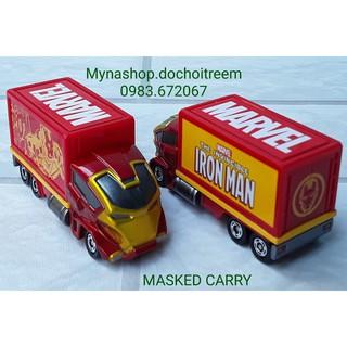 Xe Mô Hình – Masked Carry (xe tải Marvel – Iron Man) (vàng, đỏ)