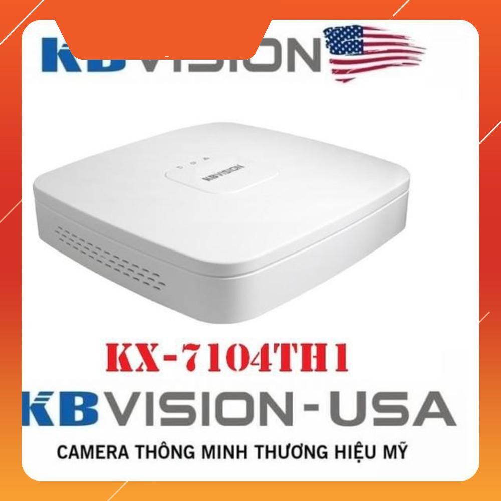 Camera {Giá sốc} Đầu ghi hình 4 kênh 5 in 1 KBVISION KX-7104TH1 ...