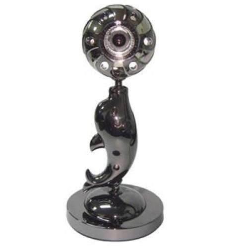 [Nhập ELCL30K giảm 30K đơn từ 200K]Webcam Sắt hình Cá heo Giá chỉ 169.000₫