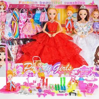 Bộ Đồ Chơi Búp Bê Barbie