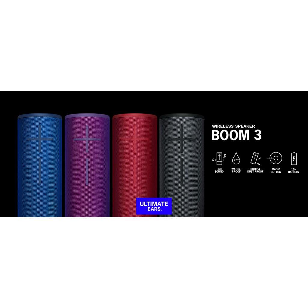 Loa Bluetooth Ultimate Ears Boom 3 - Hàng Chính Hãng- Phân Phối Tại Việt  Nam   Shopee Việt Nam