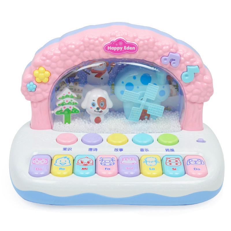 Early childhood fun music, electronic piano educational toys
