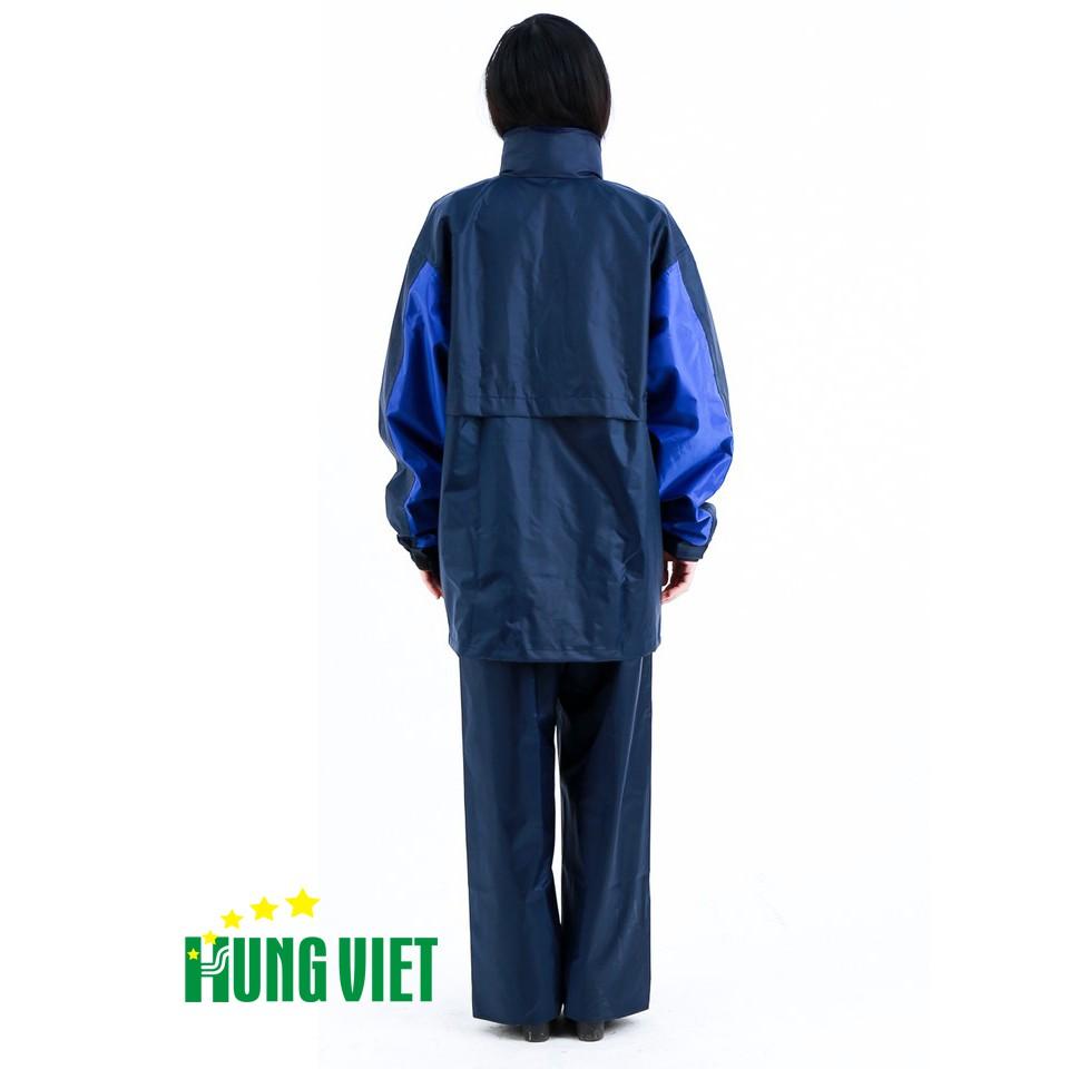 Bộ quần áo mưa 2 lớp 3 công dụng Hưng Việt