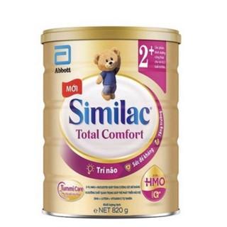 Sữa Abbot SIMILAC TOTAL COMFORT 2+ 820g dành cho bé tiêu chảy từ 2 tuổi trở lên