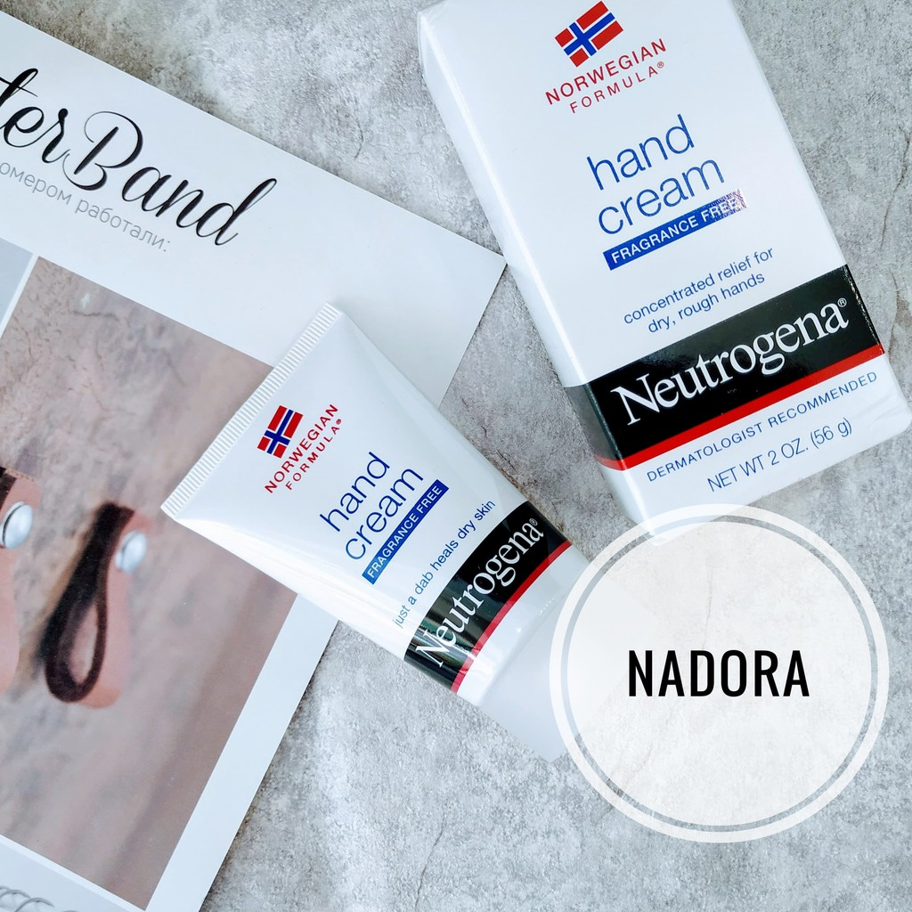 Kem Dưỡng Da Tay Neutrogena Hand Cream Fragrance Free (56g)