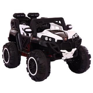 Ô tô xe điện đồ chơi ABM1188 mẫu địa hình 2 ghế 4 động cơ 12V/7AH cho bé (Đỏ-Trắng-Xanh-Cam)